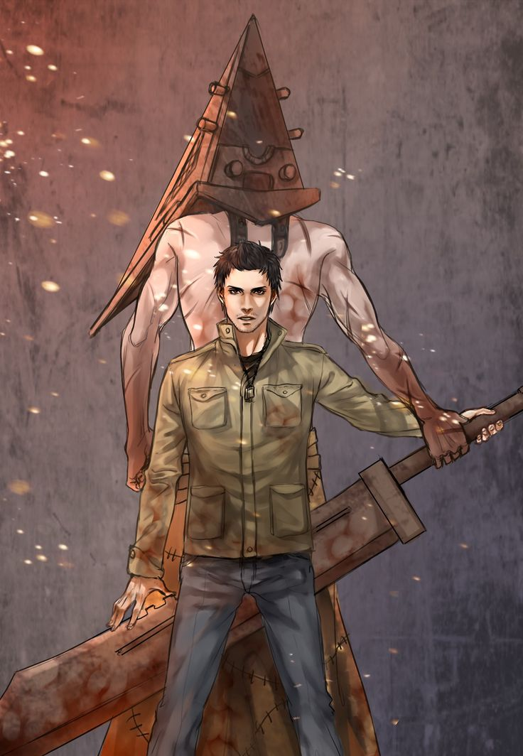 Alex and Pyramid-head | Silent Hill