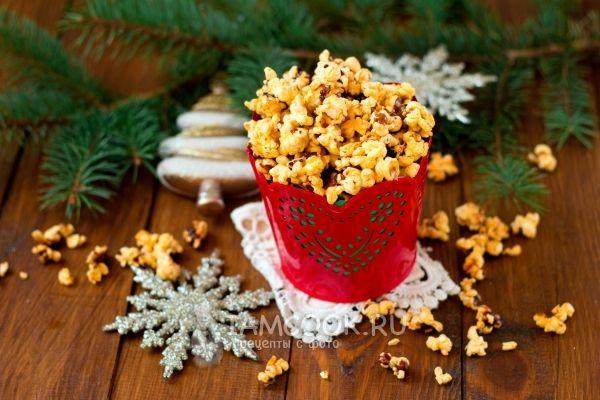 Фото попкорна в домашних условиях