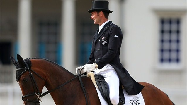 Six-time Olympian Mark Todd performs strong Dressage testCompeting in his sixth Olympic Games, two-times Individual gold medallist Mark Todd of New Zealand rides Campino into third place overnight after the Dressage phase of the Eventing competition.