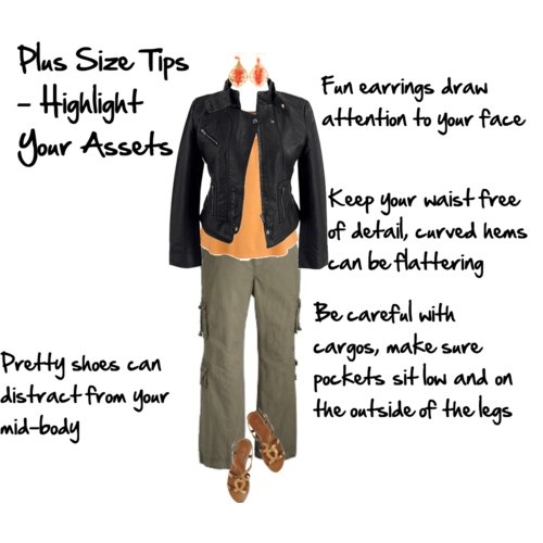Plus Size Tips Highlight Assets