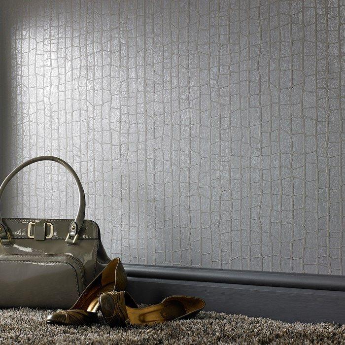 Savanna Gray Wallpaper - Geometric Wall Coverings by Graham & Brown | Graham & Brown