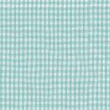 Green Gingham Cradle Sheet-Size: 15x33