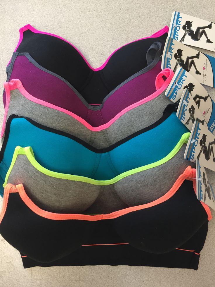 New Te Amo Women's Racerback Sports Bras (6Pack) Style