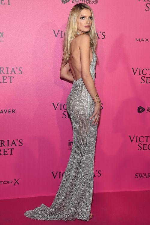 Lily Donaldson, Лили Дональдсон after party Victoria's Secret fashion show 2016