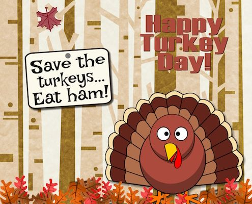 Give your loved ones a chuckle with this fun #CanadianThanksgiving wish using this #ecard.