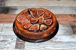 SUGAR FREE RICOTTA PUDDING WITH FRESH FIGS AND RICE MALT SYRUP