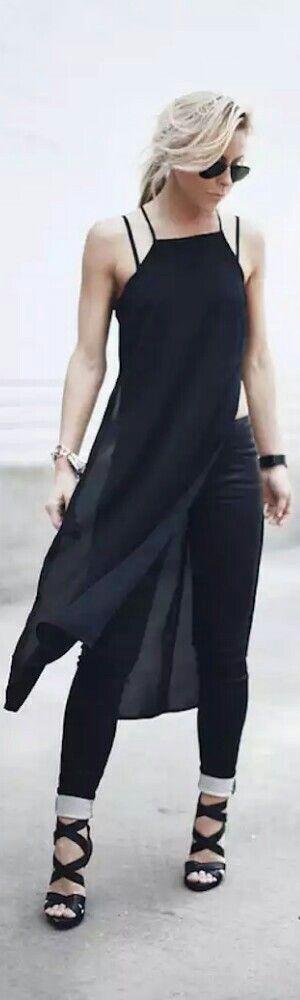 Mono c/o Guess - Fashion by Happily Grey • Street 'CHIC • ❤️ ✿ιиѕριяαтισи❀ #abbigliamento