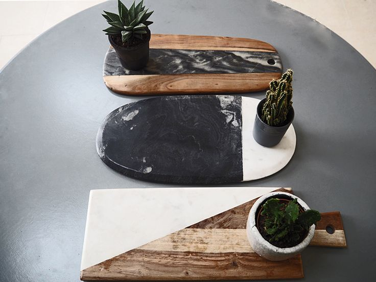 I'm having a thing about...wooden platters