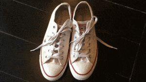 Image intitulée Clean White Converse Step 6