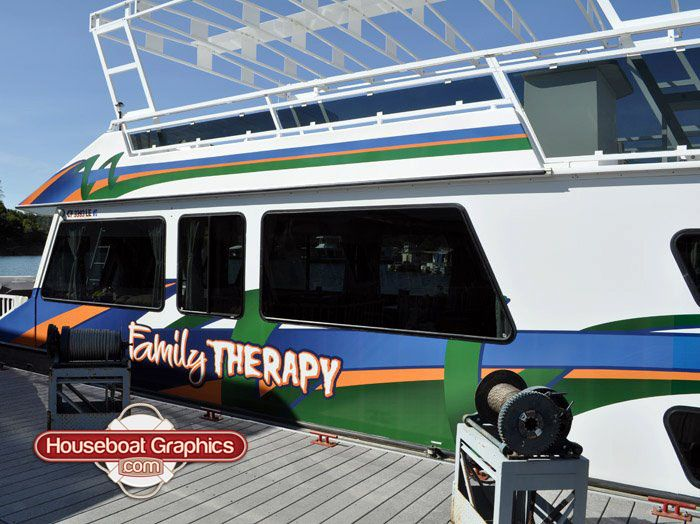 Graphics For Houseboat Full Moon Graphics Wwwgraphicsbuzzcom - Custom houseboat graphicshouseboat graphics gallery striping