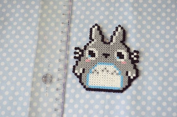 Perles Hama de Totoro Studio Ghibli Perler par CreepyMermaiid