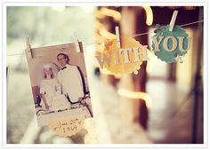 collage family wedding photos
