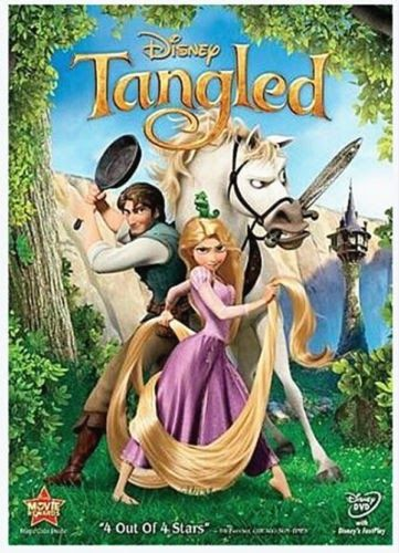 Tangled (DVD 2011) SUPER FAST SHIPPING