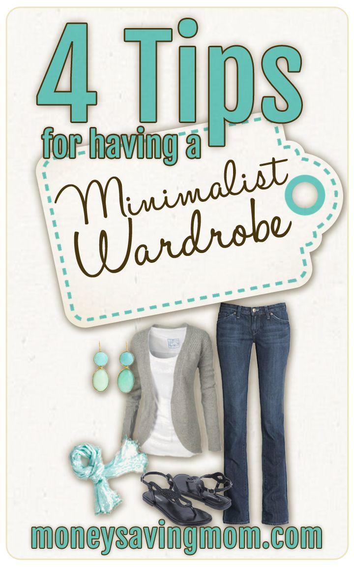 4 TIPS FOR HAVING A MINIMALIST WARDROBE! I'm sharing four tips for having a minimalist wardrobe.