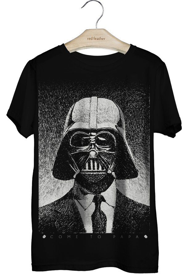 Camiseta Masculina Darth Vader - Red Feather varejo - CÓDIGO PROMOCIONAL: REDRJ