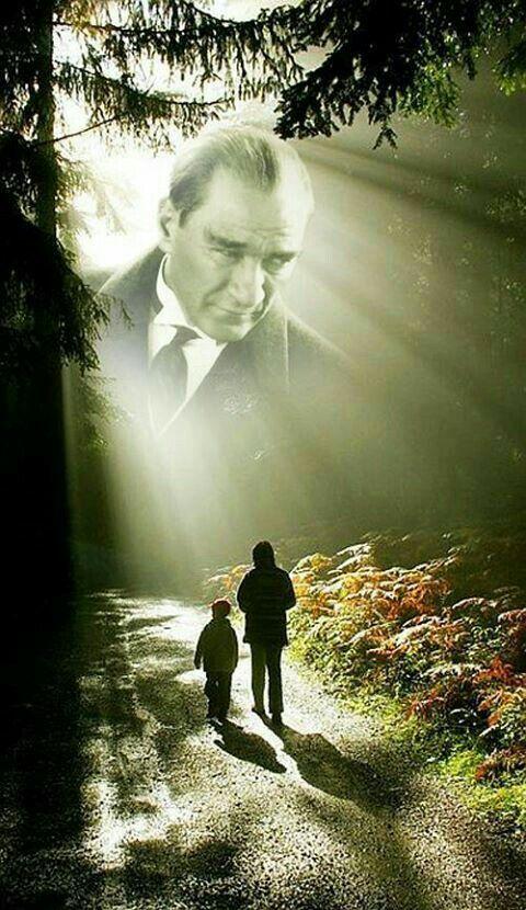 Yolun yolumuz dur Ata'm Rahat UYU Sen inşAllah.. ✔
