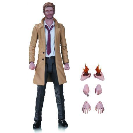 Figurine Constantine de la série Tv Arrow articulée taille env. 17 cm, en emballage blister.