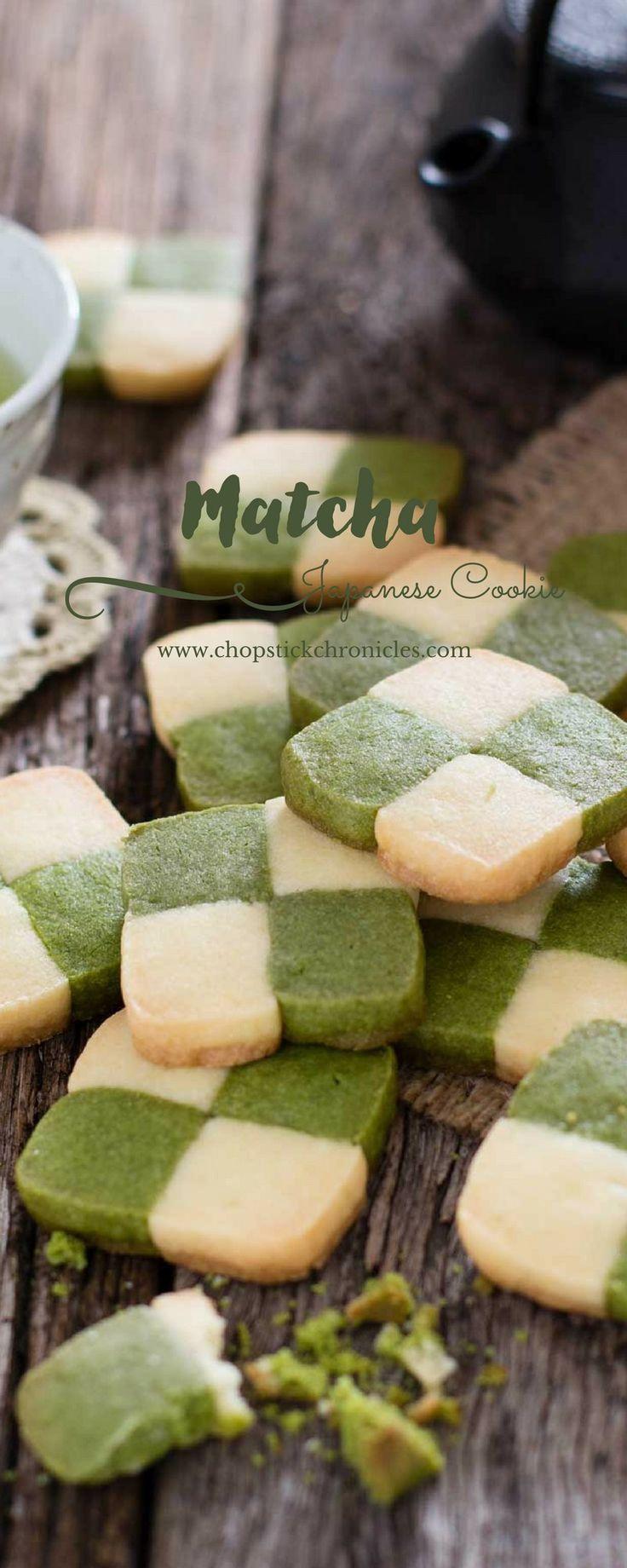 Matcha Japanese cookie