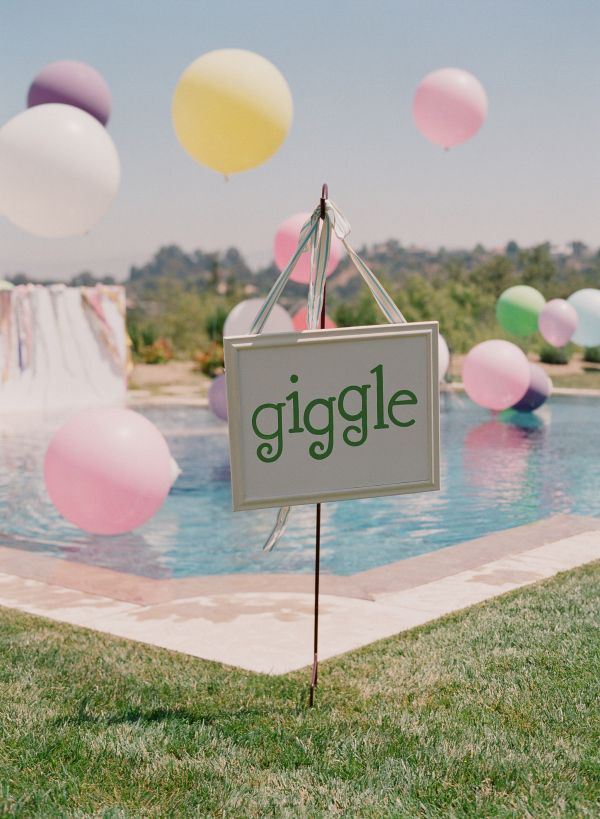 Baby shower pool party ideas pool design pool ideas for Baby garden pool