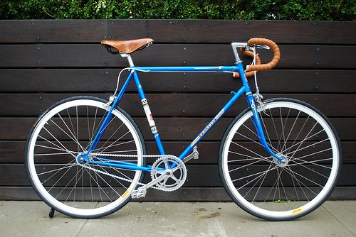 Another cool Peugeot bike by 718 Cyclery