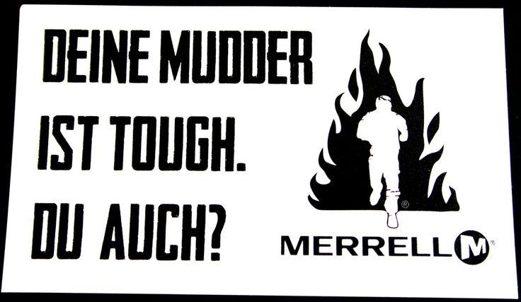 Event Tattoo - Tough Mudder Hindernislauf  #printtattoo #toughmudder #eventtattoo
