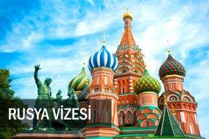 Rusya vizesi nasıl alınır ? Evraksız 2 günde vize...