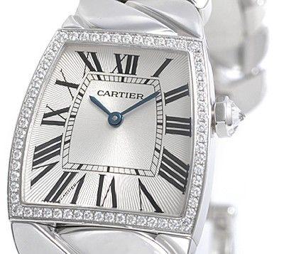 Cartier La Dona Diamond 18kt White Gold Large Ladies Watch WE60019G