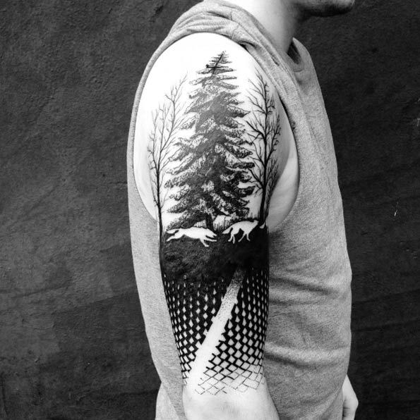 Tree Sleeve by Martynas Å nioka