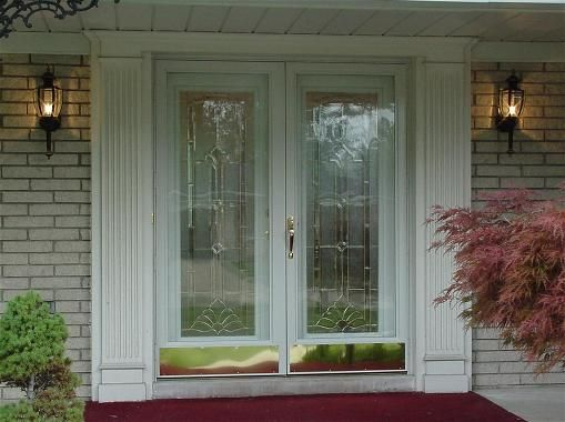 Double front doors front doors pinterest front doors for Storm doors for double entry doors