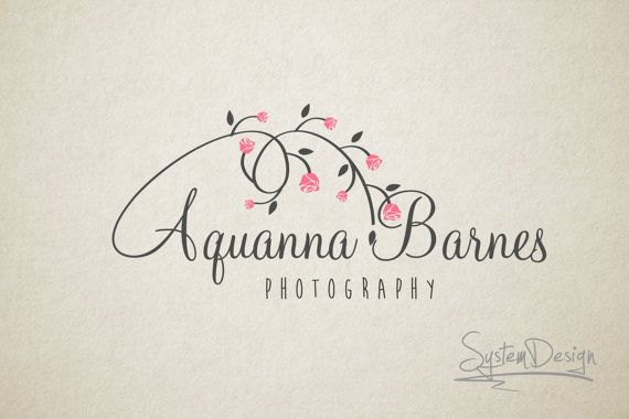 Premade Logos Photography Logos Custom Designs Premade logo and Photography logo