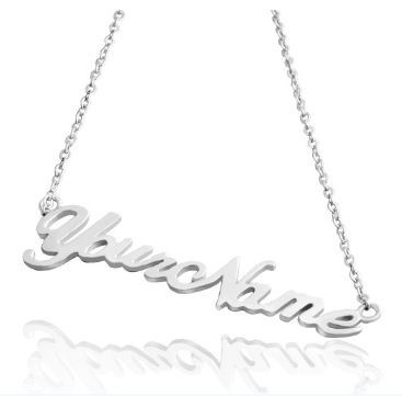 Sterling Silver Custom Name Necklace (http://www.wordon.com.au/products/sterling-silver-custom-name-necklace.html)