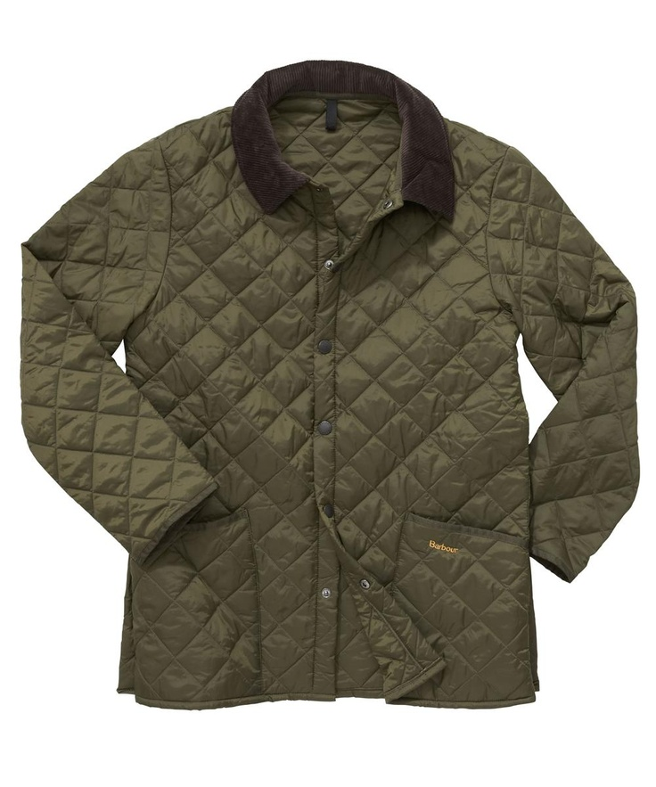 Barbour Liddesdale Jacket - one of my favorite items in my closet.