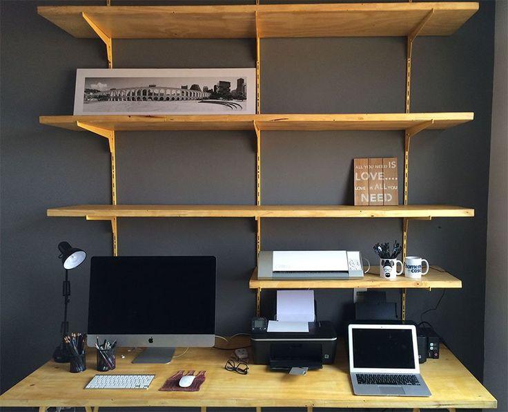 Projeto Home Office: a estação de trabalho - Homens da Casa