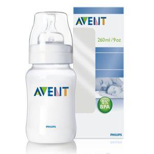 Philips Avent 0% BPA PP Biberon (260 ml ,Tekli)