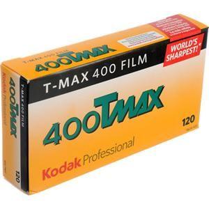 Kodak T-Max 400, 120 Size (5-pack)  $22.95
