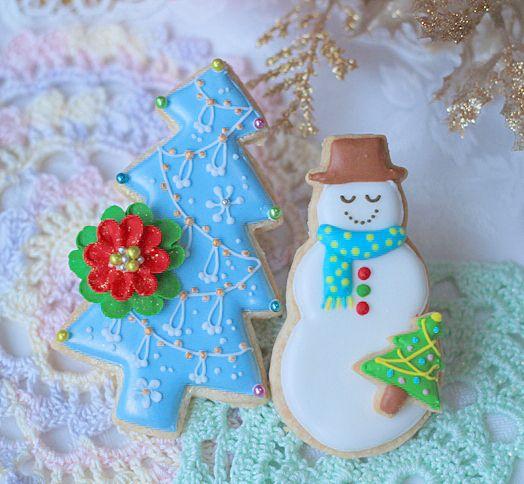 クリスマスアイシングクッキー の画像 おうちパティシエへの一本道