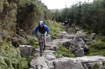 Mountain bike adventure in Scotland ... with Scotch pit stops.