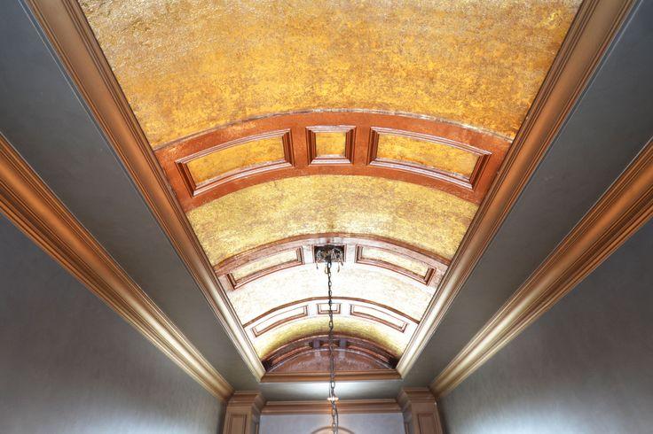 Foyer Ceiling Treatments : Foyer barrel semi coffered ceiling biltmore