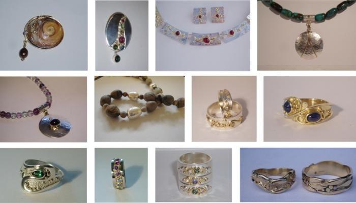 Les Freke's stunning jewellery The Silver Tree - TINTAGEL, North Cornwall