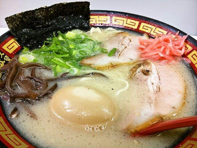 本田商店の拉麺久留米