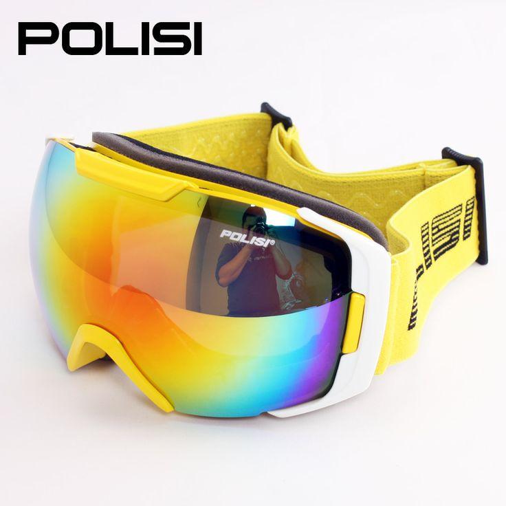 wide vision male women snowboard glasses