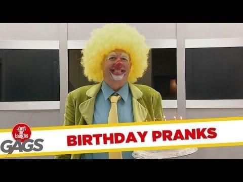 Ultimate Just For Laughs Pranks - Birthday Edition - #funny #birthday #prank