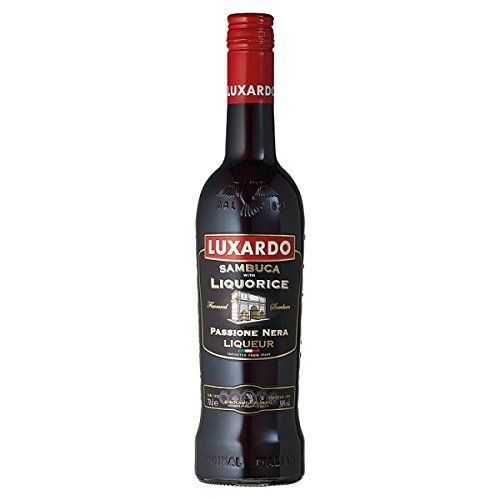 Luxardo Sambuca avec Réglisse 70cl (Pack de 6 x 70cl): Type de stockage: ambiante Type de everage: Liqueur Type d'emballage: Bouteille