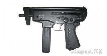 Стальной и компактный пневматический пистолет-пулемет ТиРэкс ППА-К-01
