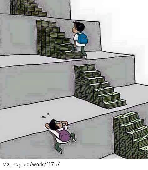 Education nowadays - Rupi - Social Comic Strip @rupidotco