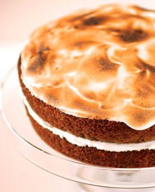 Sweet Potato Cake with Toasted Marshmallow http://dietplan-paleo.com/