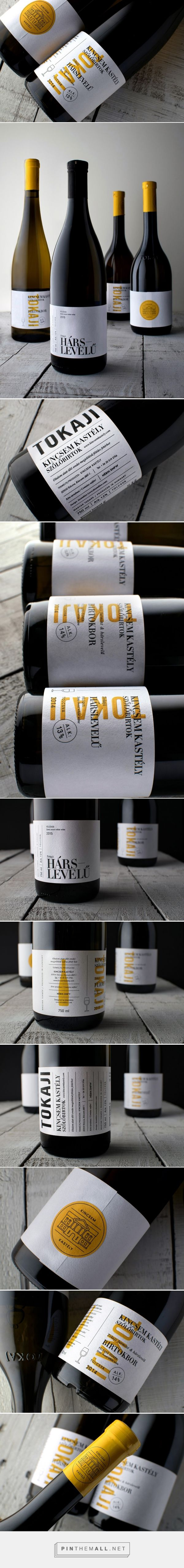 Kincsem Kastély Winery - Packaging of the World - Creative Package Design Gallery - http://www.packagingoftheworld.com/2017/01/kincsem-kastely-winery.html