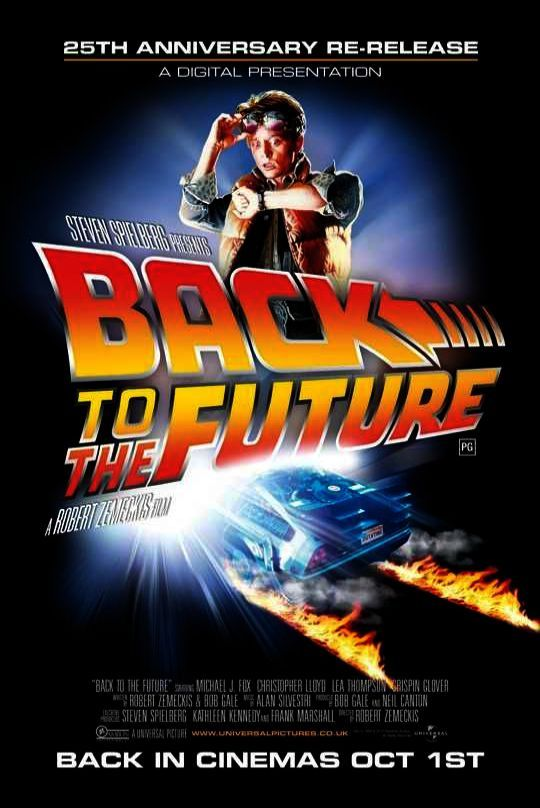 A Fox Back to the Future 2 Movie POSTER 27 X 40 In Deluxe Wood Frame Michael J