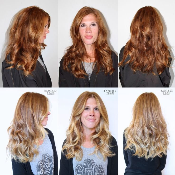 Blonde hair to red before and after the best blonde hair 2017 blonde red hair before after colour your reference urmus Images