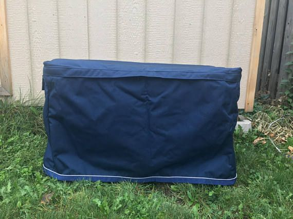 Trunk cover for Stanley or Husky tool box navy with grey